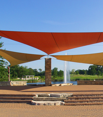 Amphitheater at a park
